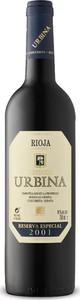 Urbina Reserva Especial 2001