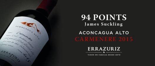 Errazuriz Aconcagua Alto Carmenère 2015