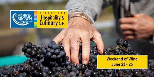 George Brown College - Weekend of Wine