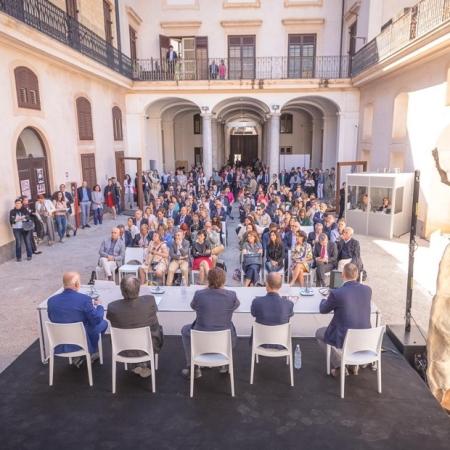 Sicilia en Primeur Press Conference, Museo Riso, Palermo