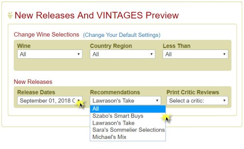 New Releases & VINTAGES Preview