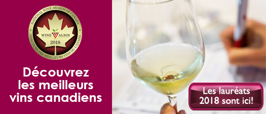 Les résultats du Concours des meilleurs vins canadiens 2018
