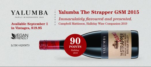 Yalumba The Strapper GSM 2015