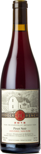 Hidden Bench Estate Pinot Noir 2016