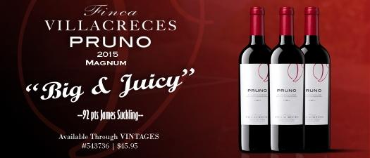 Finca Villacreces Pruno 2015 Magnum