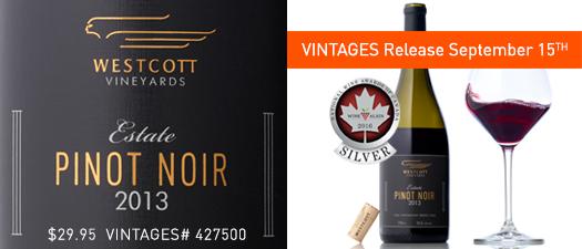 Westcott Estate Pinot Noir 2013