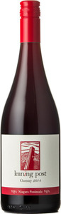 Leaning Post Gamay Wismer Armbrust Vineyard 2016