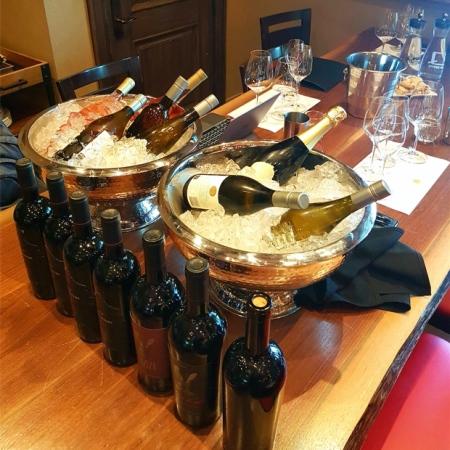 Portfolio tasting at Two Sisters Vineyards