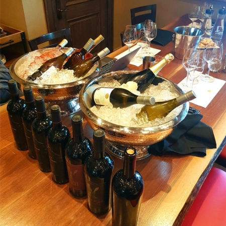 Portfolio tasting at Two Sisters Vineyards