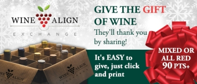 WineAlign Exchange One-Time Gifts