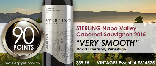 Sterling Vineyards Cabernet Sauvignon 2015