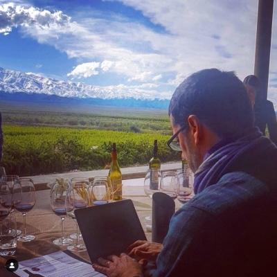 #tastingroom writing #tastingnotes @bodegadiamandes ~ #valledeuco #cdnsinarg @winesofarg