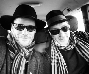 John & Michael in Tuscany