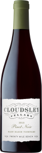 Cloudsley Cellars Glen Elgin Vineyard Pinot Noir 2016