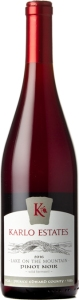 Karlo Estates Pinot Noir Lake On The Mountain Wild Ferment 2017