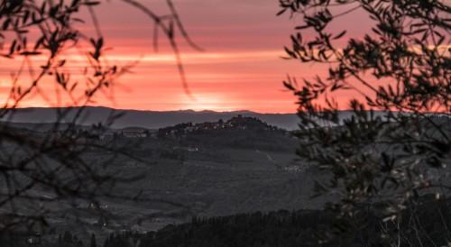Sunset from Lamole