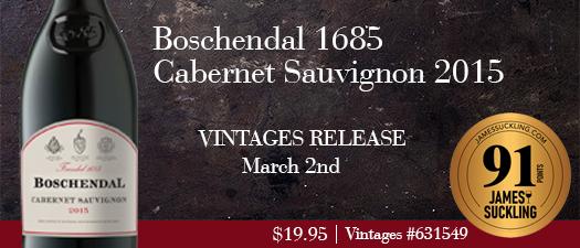 Boschendal 1685 Cabernet Sauvignon 2015