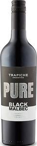 Trapiche Pure Black Malbec Unoaked 2017