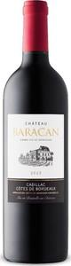 Château Baracan 2015, Ac Côtes De Bordeaux Cadillac