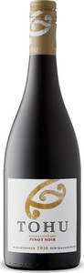 Tohu Single Vineyard Pinot Noir 2016, Marlborough, South Island