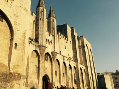 Avignon, Cité des Papes, home to a new education center uniting the appellations of the north and southern Rhône