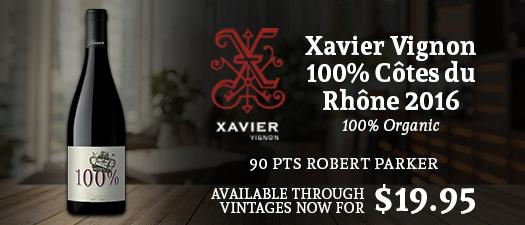 Xavier 100% Côtes Du Rhône 2016
