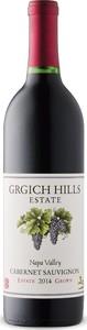 Grgich Hills Estate Cabernet Sauvignon 2014