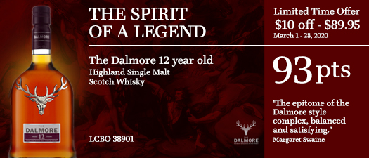 The Dalmore 12 Year Old Highland Single Malt Scotch Whisky