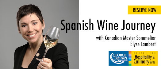 Spanish Wine Tasting with Canadian Master Sommelier Élyse Lambert