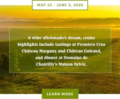 Globe & Mail - Bordeaux Cruise