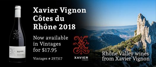 Xavier Vignon Côtes Du Rhône 2018
