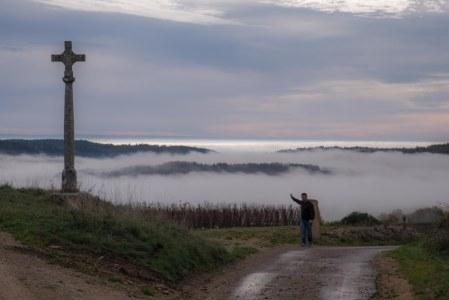 Alexandre Parigot, Hautes Côtes de Beaune, fog in the Combe de Pommard