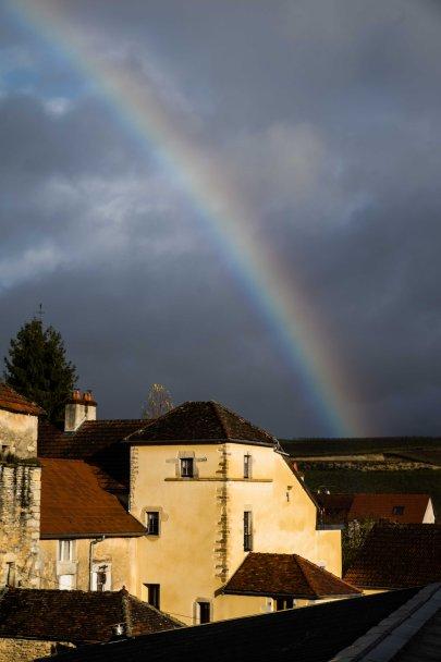 Rainbow in the Hautes Côtes de Nuits