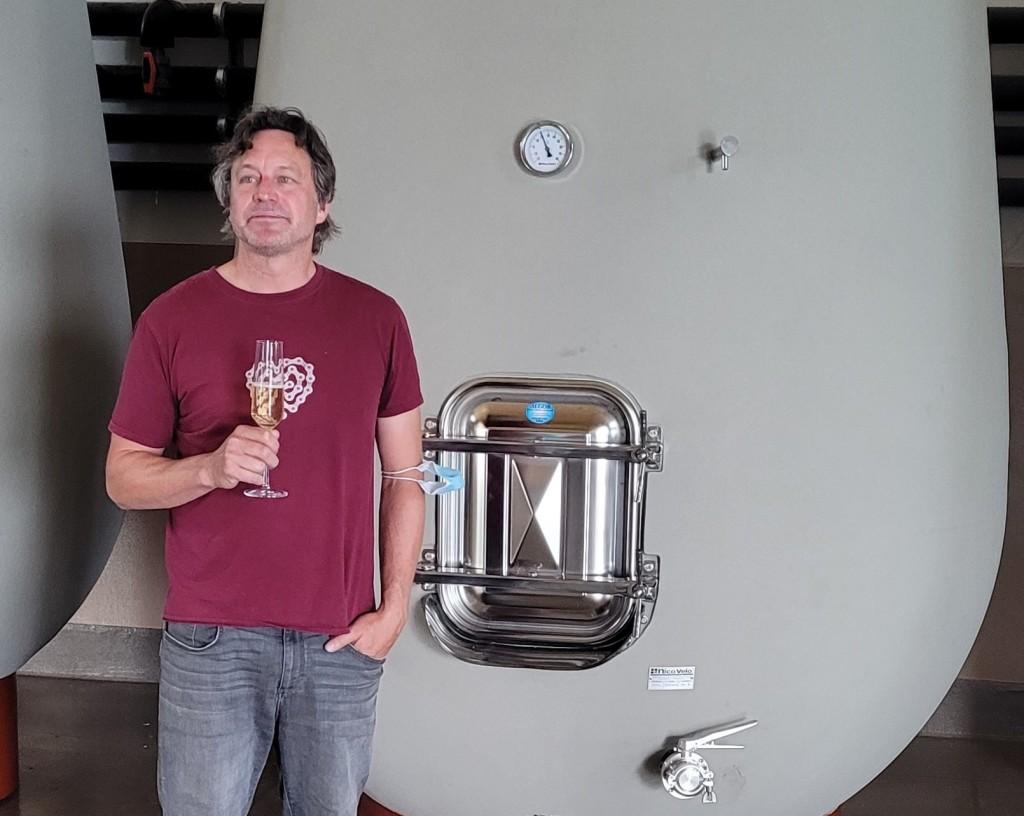 Jay Johnston of Hidden Bench Estate Winery